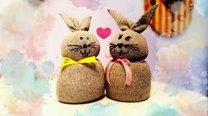 diy coniglietti pasquali decorazioni per la casa easter bunnies
