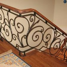 Wrought Iron Railings Interior Stairs Custom Railings And Handrails Custommade Com