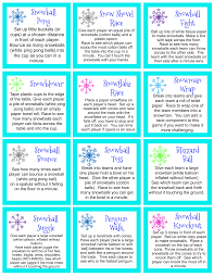 snowball games are fun for the whole family or classroom parties