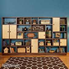 Best Wood To Build A Bookcase How To Hang Shelves Family Handyman