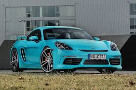widebody porsche boxster techart adds muscle to the porsche 718 cayman by car magazine