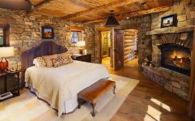 Log Home Bedrooms A Log Home Bedroom That Dreams Are Made Of
