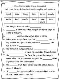 brilliant ideas of force and motion worksheets pdf with additional