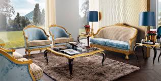 new baroque design coffee table glass square capri