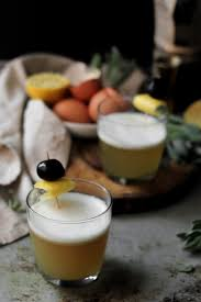 christmas cocktails recipes cozy maple whiskey sour she eats