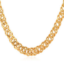 man necklace gold jewelry images Buy kpop chain men necklaces gold rose gold jpg