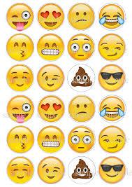 wedding cake emoji 2018 wholesale 24 emojis edible cake topper wafer rice paper for