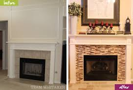 How To Reface A Fireplace by Before U0026 After The Fireplace Team Whitaker