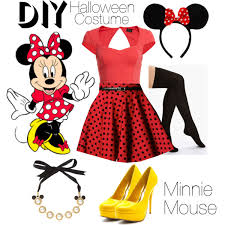 Minnie Mouse Halloween Costume Diy Minnie Mouse Diy Costume