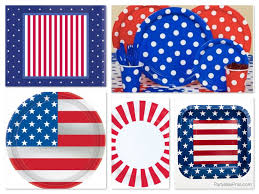 4th Of July Party Decorations Celebrate The 4th Of July Patriotic Party Planning Ideas