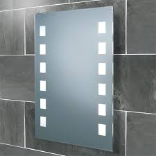Illuminated Bathroom Mirrors Hib Halifax Back Lit Bathroom Mirror