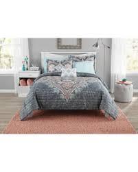 Mainstays Bedding Sets Sweet Deal On Mainstays Bed In A Bag Global Diamond Comforter Set