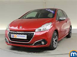 peugeot red used peugeot 208 red for sale motors co uk