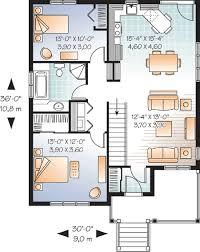 2 bedroom home floor plans 800 square 2 bedrooms 1 batrooms on 1 levels floor plan