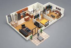 20 Splendid House Plans In 3d Pinoy House Plans 2 Story House Plan 3d