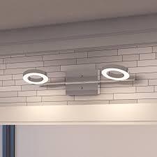 led lights in grout elegant led vanity lights in stylish bathroom light design remodel 3