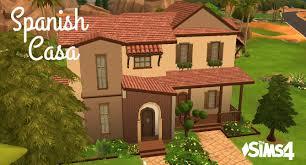 sims 4 house building spanish casa youtube