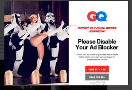 Blockers Ad Gq Website Gives Ultimatum To Readers Disable Ad Blockers Or Pay
