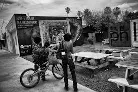 Simple Black And White Lounge Pics Jetsonorama Uranium Mining Mural Downtown Phoenix Eye Lounge