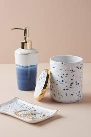 unique soap dispenser blue decorative storage u0026 organizing anthropologie