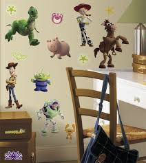 roommates rmk1428scs toy story peel stick wall decals glo in from the manufacturer