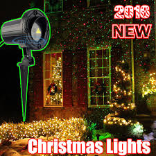 Christmas Decorations Laser Lights by Christmas Laser Projector Red Green Glow Worm Static Effect
