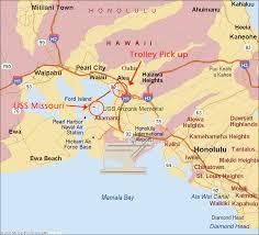 Pearl Harbor Map Pearl Harbor City Map Pearl Harbor Visitor Center Hawaii