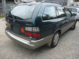 toyota corolla touring wagon 1997 6 toyota corolla wagon e ae100g g touring cd chenger