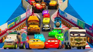 lightning mcqueen monster truck videos cars 3 colors jackson storm lightning mcqueen monster truck cars 3