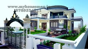 Modern Style Luxury Villa Exterior Modern Elevation Bungalow Design Front Elevation Design House