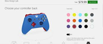 Design Your Own Home Game 3d Xbox Design Lab Lets You Create Your Own Controller