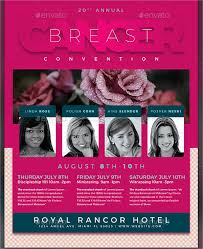 15 breast cancer flyers free psd ai eps format download