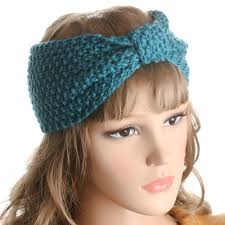 ear warmer headband 1 pc fashion crochet knotted turban knitted headband for