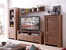 Wohnzimmerschrank Reduziert Bern Regal Akazie Dunkel