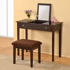 Glass Vanity Table Bedroom Furniture Sets Makeup Vanity Desk Vanity Mirror Set