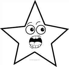 star shape printable worksheets small template stencils star shape
