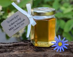 honey jar wedding favors set of 24 2 oz honey jars favors honey wedding favor