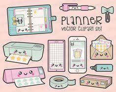 clipart bureau supplies clip back to clipart kawaii