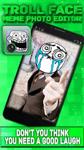 Meme Face Picture Editor - troll face meme photo editor apk download free entertainment app