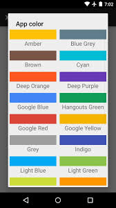 android color how to theme hangouts for android with 23 custom colors android