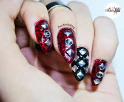deenails gothic new year nail design
