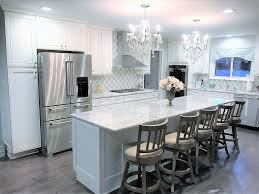 gray kitchen cabinets with white trim dishy gray kitchen remodeling ideas with white trim and tile