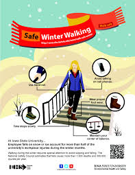 helpful hints when walking on snow or environmental health and