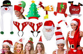 christmas hats festive fancy dress accessory office party secret