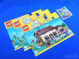 simpsons house floor plan the lego simpsons house review 71006 don t have a cow man