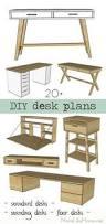 free plans to build a diy corner floor desk plus 20 more desk