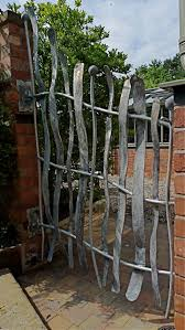 iron garden art gardening ideas