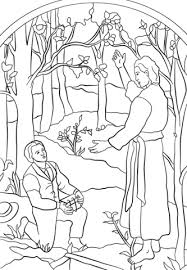 coloring page angel visits joseph angel moroni visits joseph smith coloring page free printable
