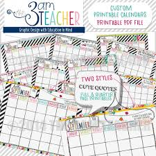 printable calendar 2016 for teachers teacher calendar template skiro pk i pro tk