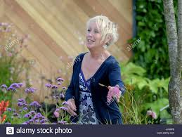picture shows carol klein gardening expert and tv presenter on